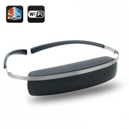98 Inch 2D/3D Virtual Screen Video Glasses