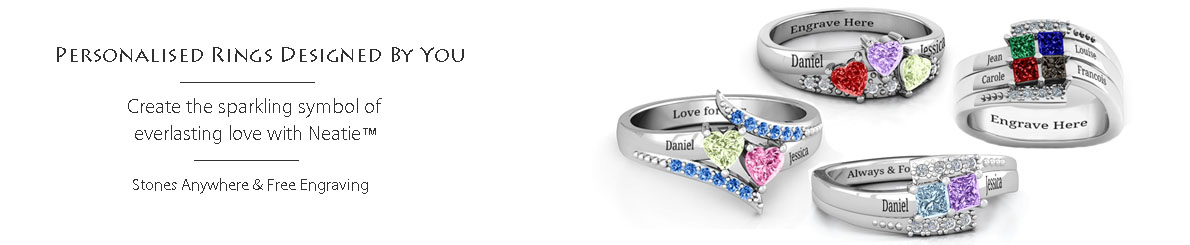 find the best personalised rings hand makers in UK and US